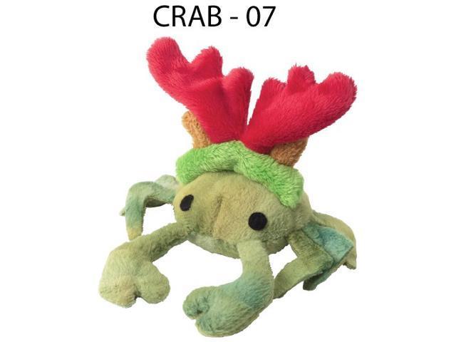 Doggles Pet Fun Play Pet Supplies Toy Cat Christmas Crab