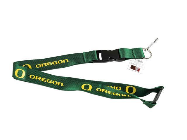 Oregon Ducks Clip Lanyard Keychain Id Ticket