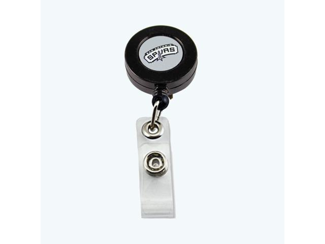 San Antonio Spurs Retractable Badge Reel Id Ticket Clip