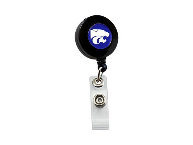 NCAA Kansas State Wildcats Team Logo Retractable Badge Reel Id Ticket Clip