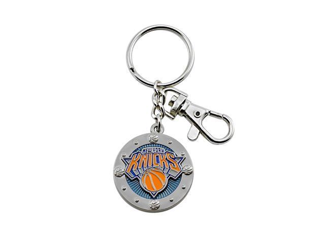 NBA New York Knicks Sports Fans Team Logo Purse Bag Metal Impact Keychain Key Ring Gift
