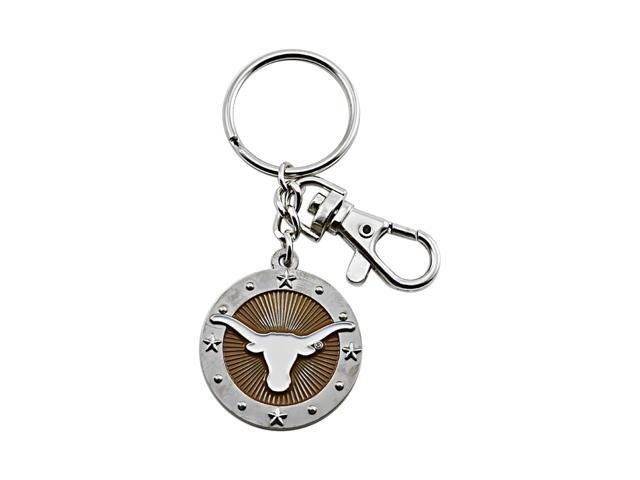 Texas Longhorns NCAA Team Logo Purse Bag Impact Keychain Key Ring Gift
