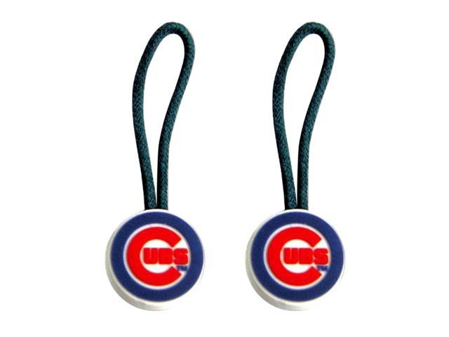 Chicago Cubs Zipper Pull Charm Tag Luggage Pet Id Set
