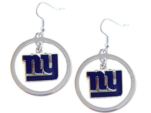 NFL Newyork Giants Team Logo Hoop Earring Sports Fan Gift