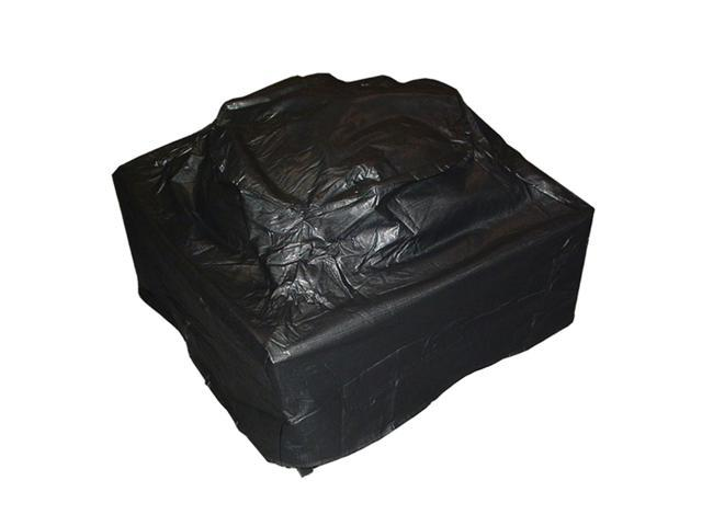 WT Living Outdoor Square Fire Pit Vinyl Cover
