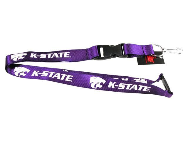 Kansas State Wildcats Clip Lanyard Keychain Id Holder Ticket