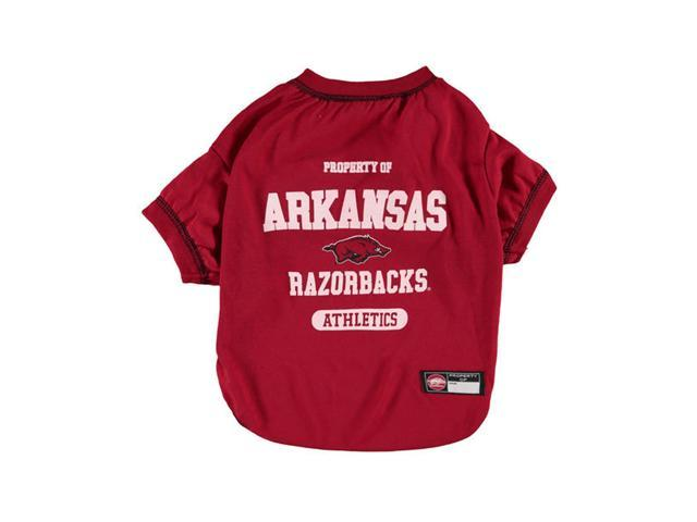 Arkansas Razorbacks Dog Tee Shirt Medium