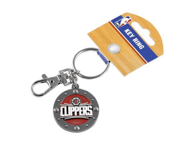La Los Angeles Clippers Sports Fans Team Logo Purse Bag Metal Impact Keychain Key Ring Gift