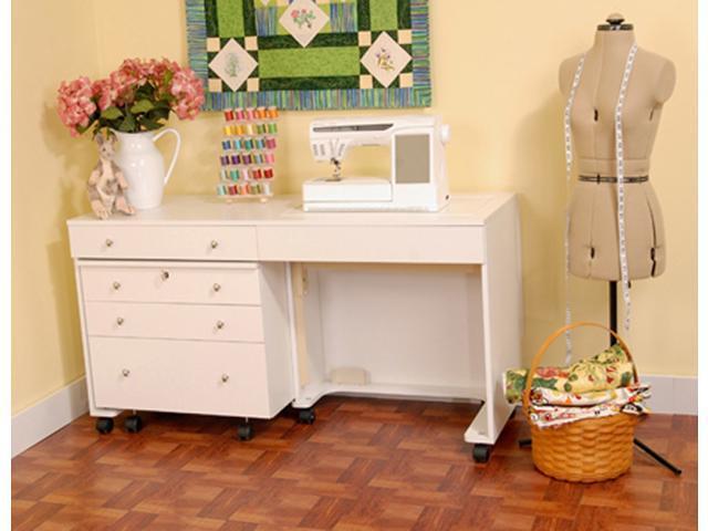 Kangaroo Kabinets - Kangaroo and Joey Sewing Cabinet in White Ash