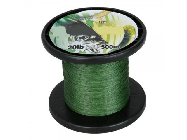 Fishing Line Spool 500M 0.20MM 20LB Green