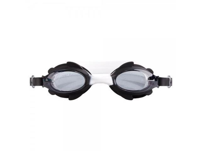 Professional Anti-fog UV Shield HD Protective Waterproof Children Eyewear Swimming Goggles Glasses G104 Black & White