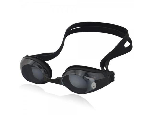 800-Degree Adults Shortsighted Swimming Goggles Glasses Black