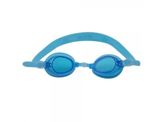 Anti-fog Silicone Children Swimming Goggles Lake Blue