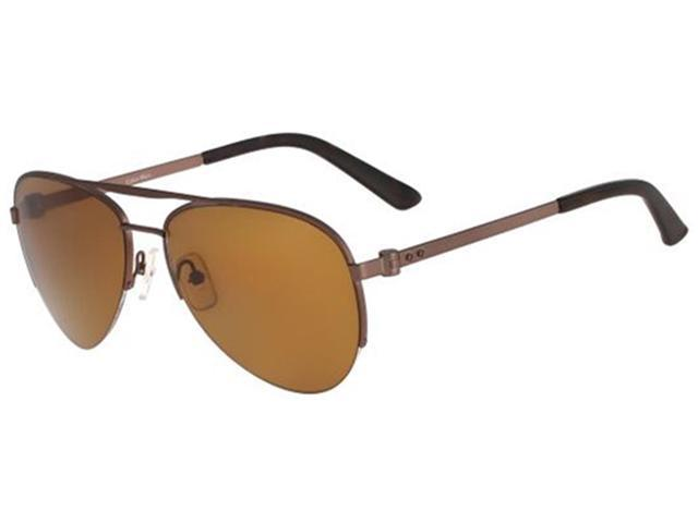 polarized aviator sunglasses bkpi  Calvin Klein CK8000SP 223 Men's Polarized Aviator Sunglasses