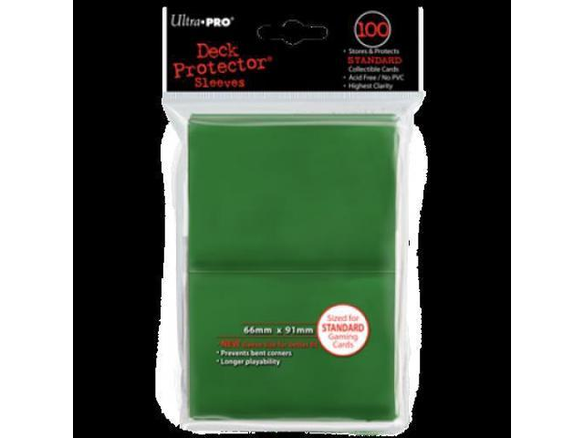 Deck Protector Sleeves: 100 Green