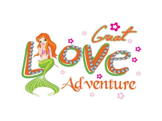 Mermaid Wall Sticker Modern Wall Decals Stickers Large ...