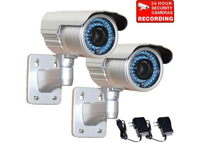 VideoSecu 2 Pack IR Night Vision Indoor Outdoor Weatherproof ...