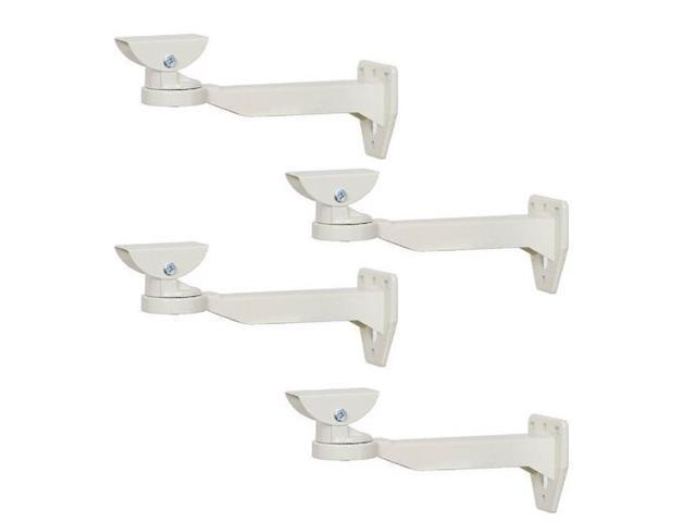 VideoSecu 4x Outdoor Wall Ceiling Mount CCTV Security Camera ...