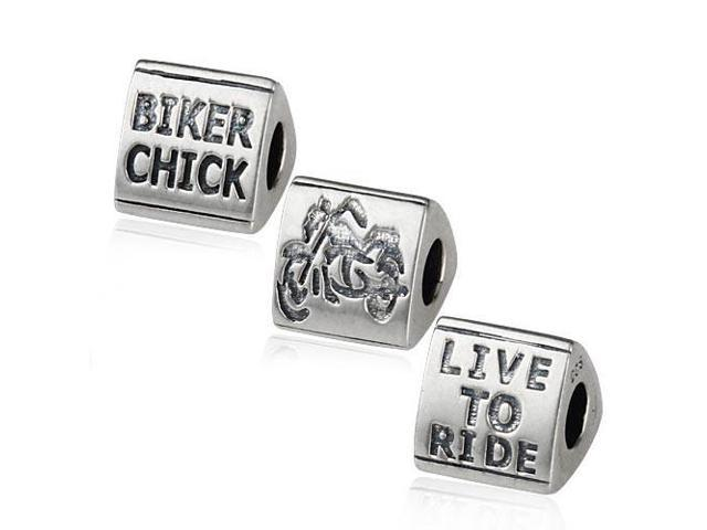 Babao Jewelry Harley Davidson Soild Authentic 925 Sterling