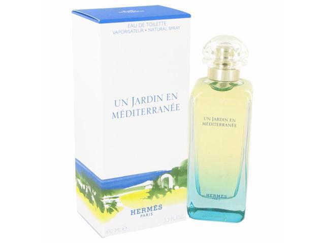 Un Jardin En Mediterranee Perfume by Hermes, 3.4 oz Eau De Toilette Spray for Women
