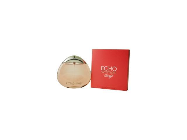 Echo Woman By Davidoff Eau De Parfum Spray 3.4 Oz