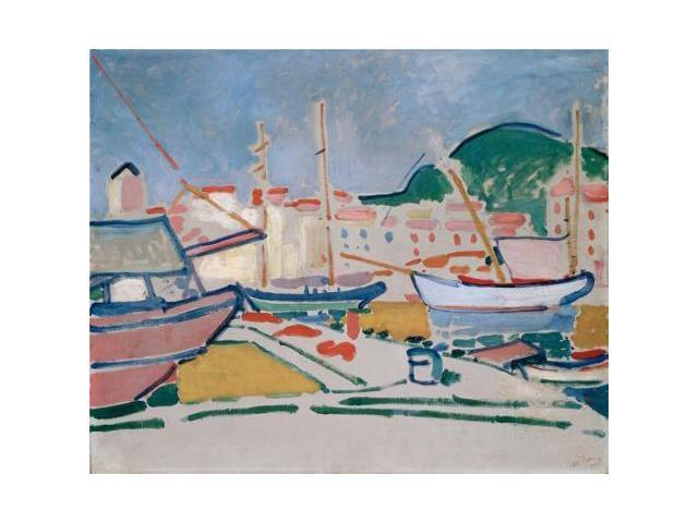 Canvas Prints Of Oil Painting 39 Port 1905 By Andre Derain 39 12 X 15 Inch 30 X 37 Cm High