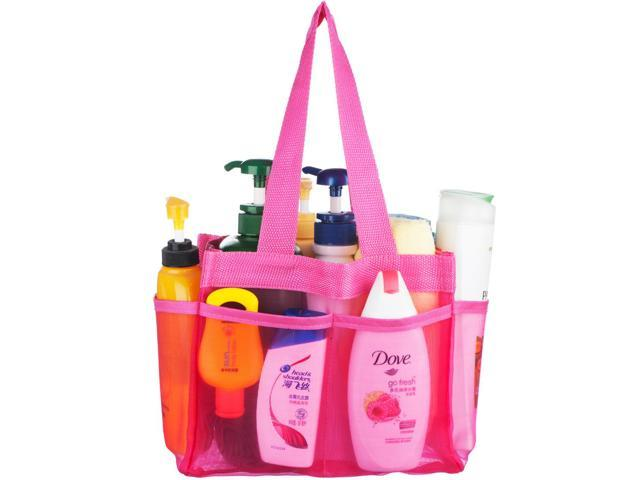 Shower Caddy Tote shower caddy - quick dry hanging toiletry and bath organizer with