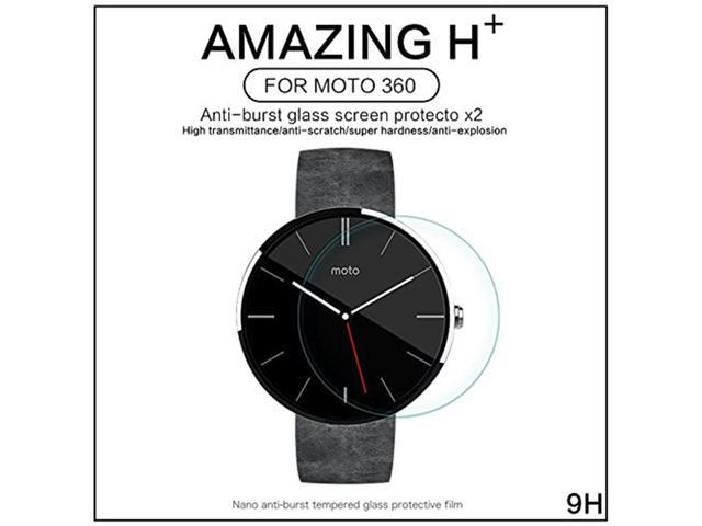 Nillkin H+ Anti-Burst Glass Screen Protector for Moto 360 - Retail Packaging - Transparent