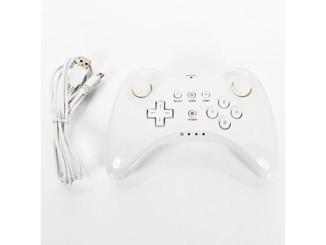White U Pro Wireless Controller Gamepad for Nintendo Wii U Console