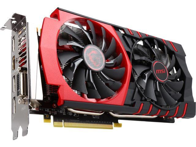 MSI GeForce GTX 950 2GB DirectX 12 GTX 950 GAMING 2G 128-Bit GDDR5 PCI Express 3.0 x16 HDCP Ready SLI Support ATX GAMING Video Graphics Card