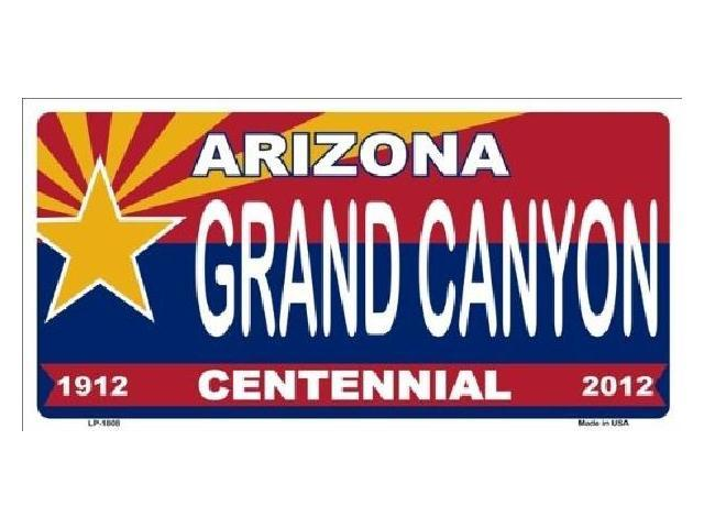 Arizona Centennial GRAND CANYON Aluminum License Plate - SB-LP1808
