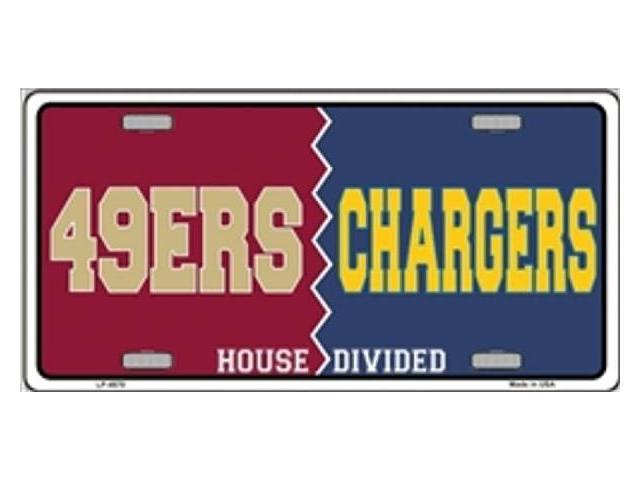 San Francisco 49ers Vs San Diego Chargers House Divided
