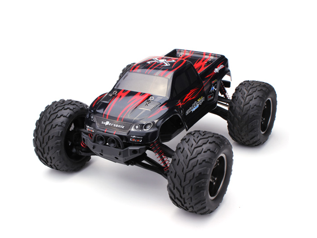 9115 1/12 2.4GHz 2WD Brushed RC Remote Control Monster Truck RTR