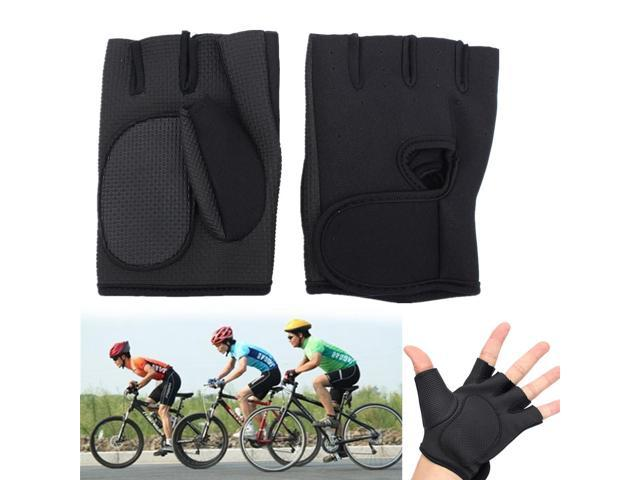 Outdoor Sports Exercise Fingerless Cycling Bike Training Fitness Hunting Gloves