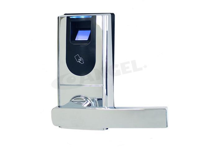 Angel pos biometric fingerprint keyless entry door lock for Door entry fobs