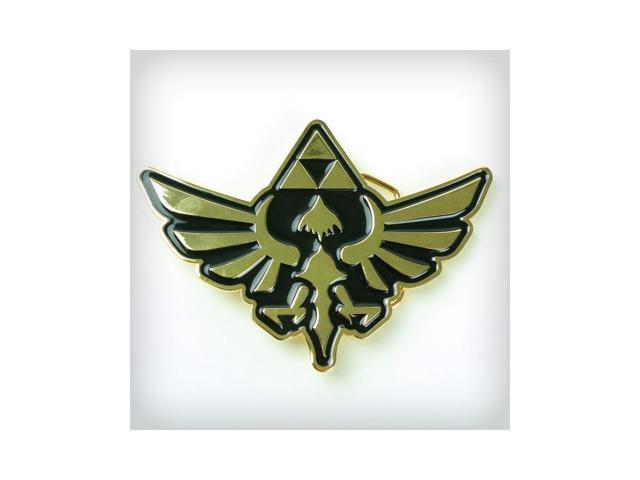 Legend of Zelda Gold Crest Belt Buckle