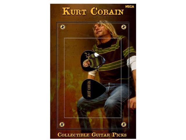 Nirvana Kurt Cobain Guitar Pick Green Sweater