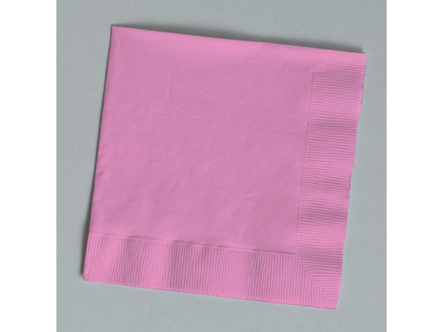 Touch Of Color 50 Count Beverage Napkins Candy Pink