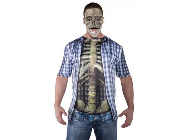 Skull Child Costume Mask One Size