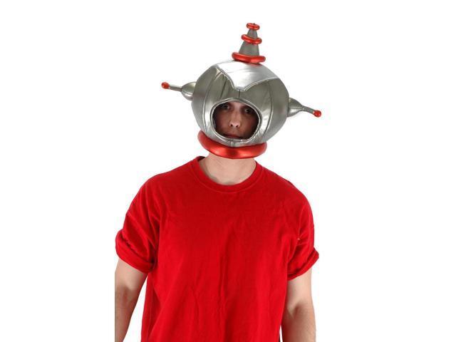 Space Man Astronaut Retro Costume Headpiece Adult One Size