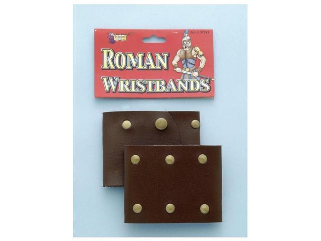 Roman Costume Wristbands One Size