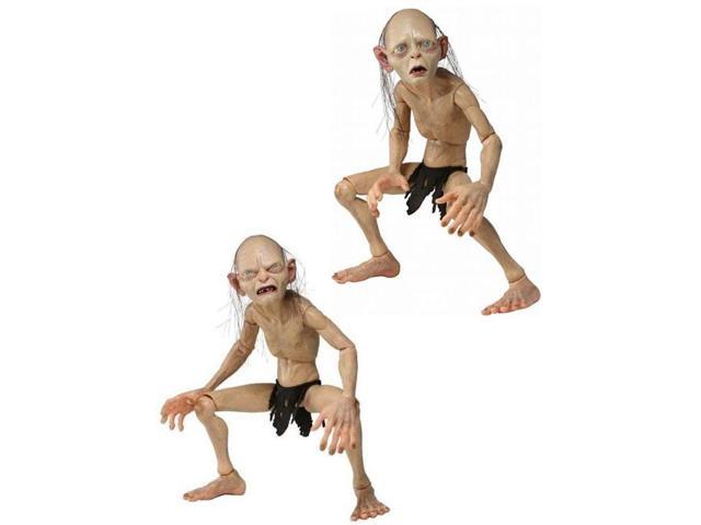 Lord Of The Rings 1/4th Scale Figure Asst Gollum And Smeagol Case Of 4