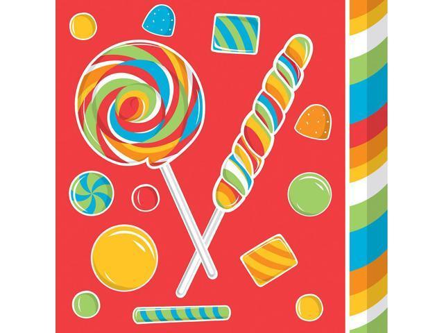 16 Pack Beverage Napkins Sugar Buzz