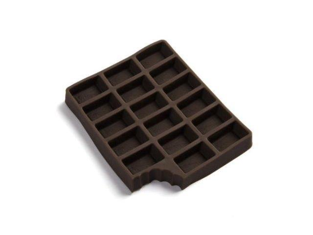 Ice Chocolate Flexible Silicone Ice Cube Tray
