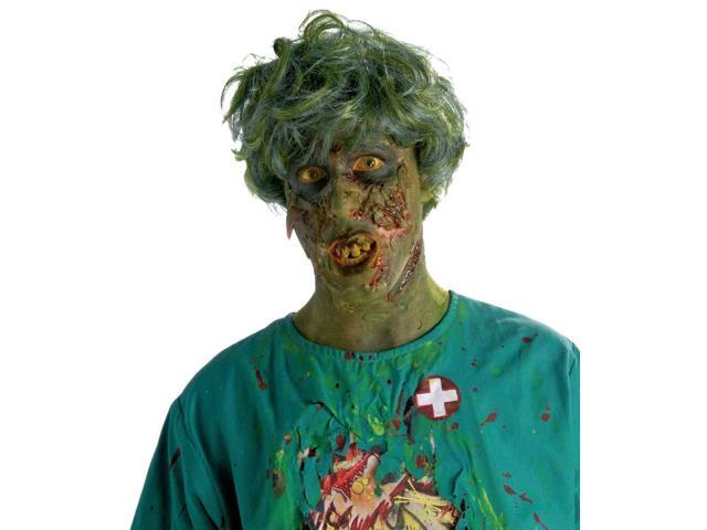 Biohazard Zombie Noxious Adult Male Costume Wig One Size