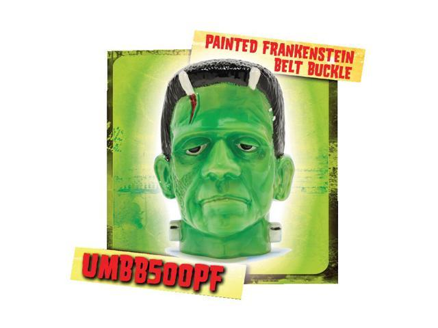 Universal Monster Colored Frankenstein Belt Buckle
