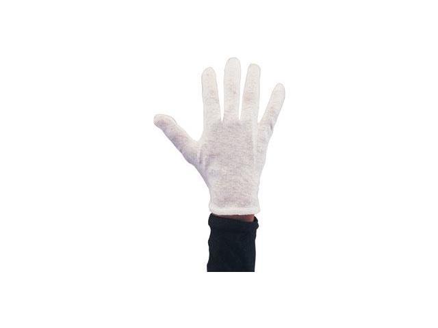 Economy White Cotton Gloves