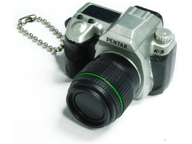 Pentax Capsule Mini Camera Keychain K-5 Limited Silver Camera