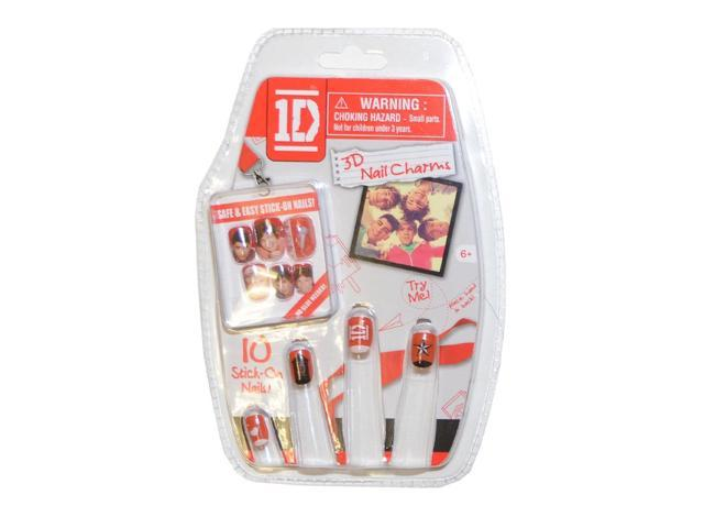 1D One Direction Stick-On 3D Nail Charms