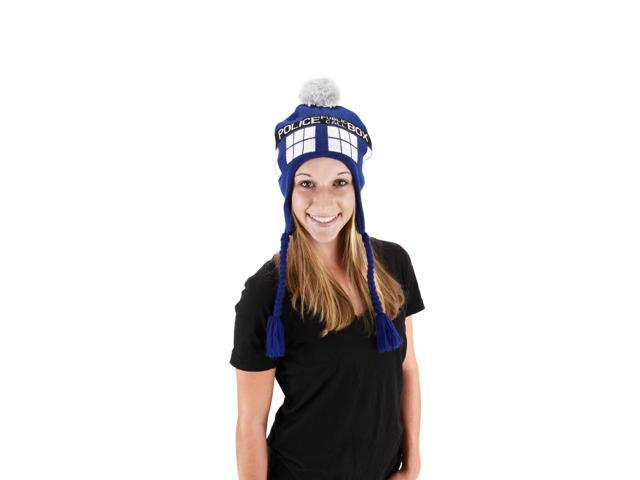 Dr. Who Tardis Laplander Hat Officially Licensed One Size
